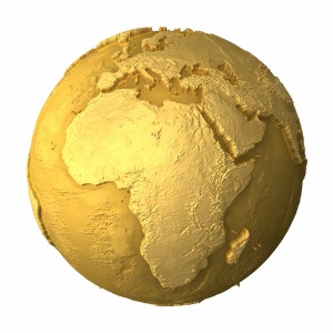 Gold Globe - Africa
